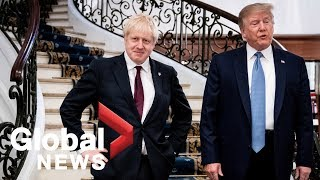 G7 summit: Trump meets with U.K. PM Boris Johnson, says .very big trade deal. ahead