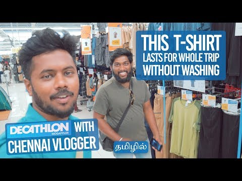 Things You NEED For TRAVELLING | Decathlon | Ft. Chennai Vlogger (Tamil)