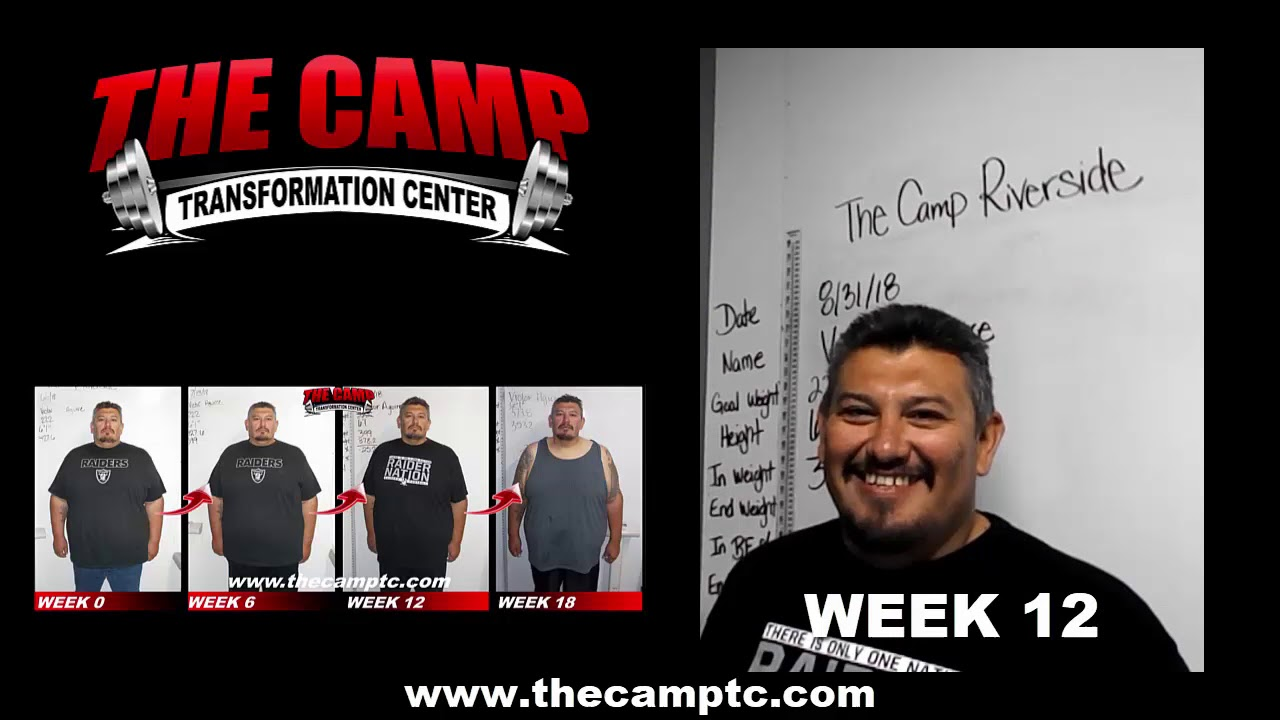 Riverside Weight Loss Fitness 18 Week Challenge Results Victor A