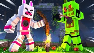 Lolbit Becomes A Zombie In Murder Mystery Infection (Minecraft Fnaf Roleplay Adventure)