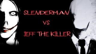 JEFF THE KILLER VS SLENDERMAN RAP | CONCURSO | ZARCORT Y CYCLO