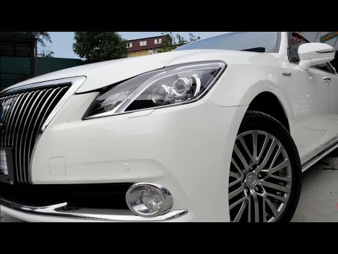 Toyota CROWN MAJESTA - БОСС всех Краунов HYBRID 4WD.