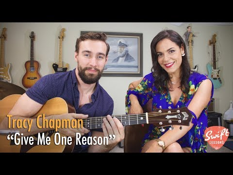 Give Me One Reason Rhythm Guitar Lesson  Tracy Chapman