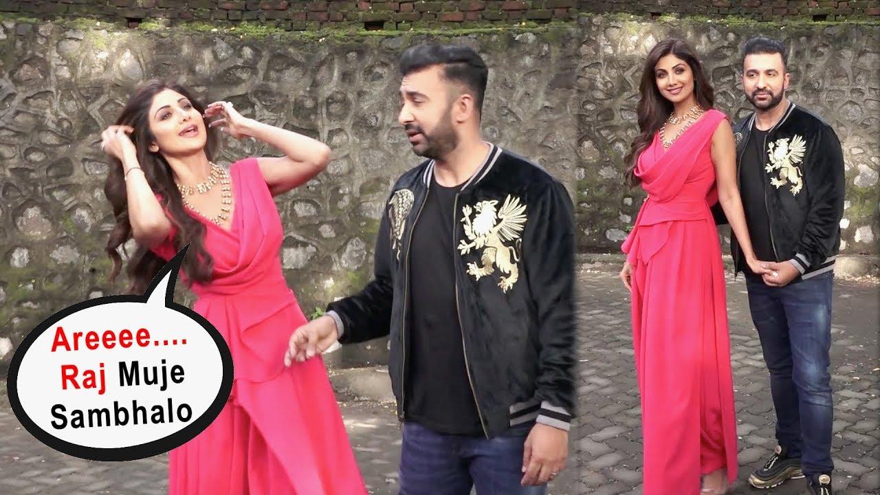 World Happiest Couple Shilpa Shetty And Raj Kundra Making Fun Together