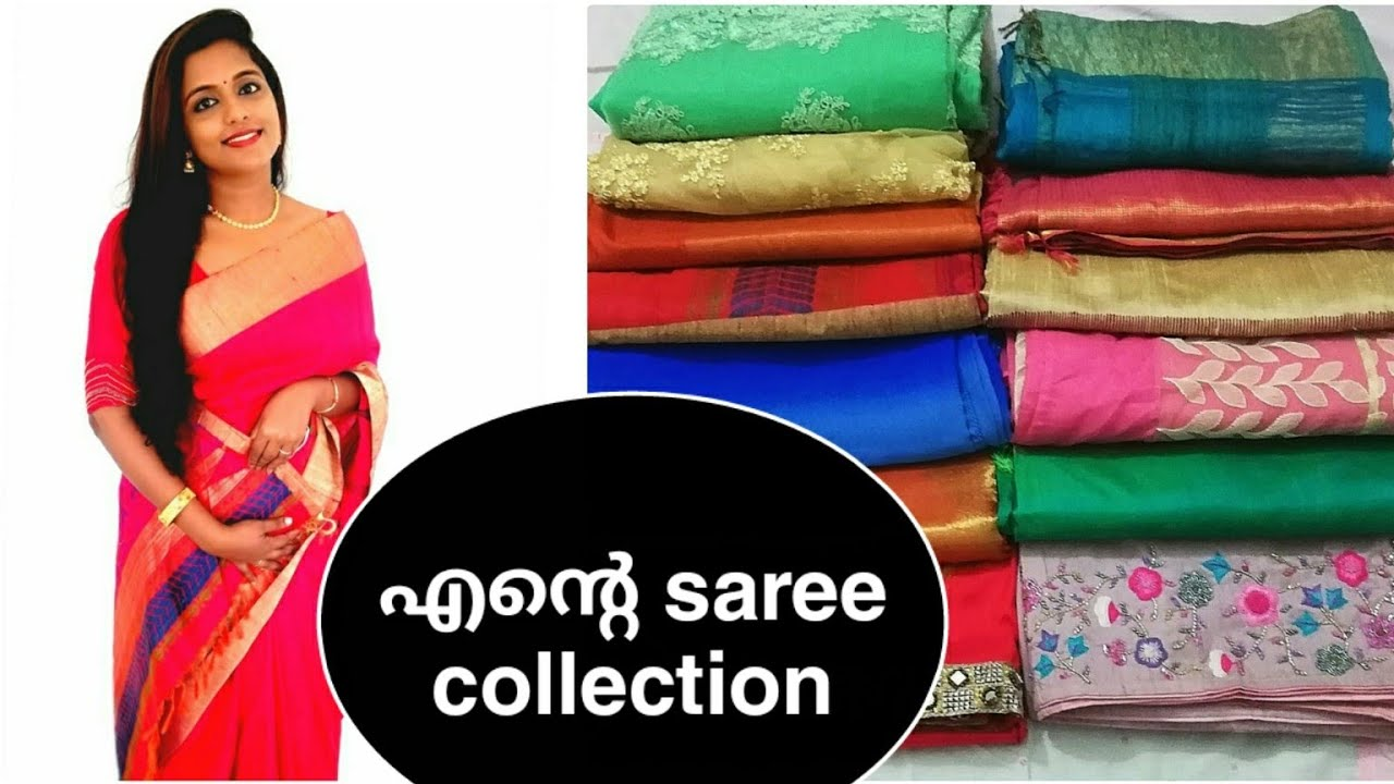 My saree collection |Angel diaries