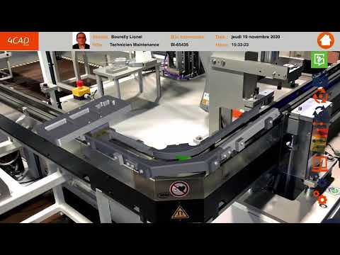 AR Maintenance by 4CAD Group : la solution de réalité augmentée pour vos opérations de maintenance