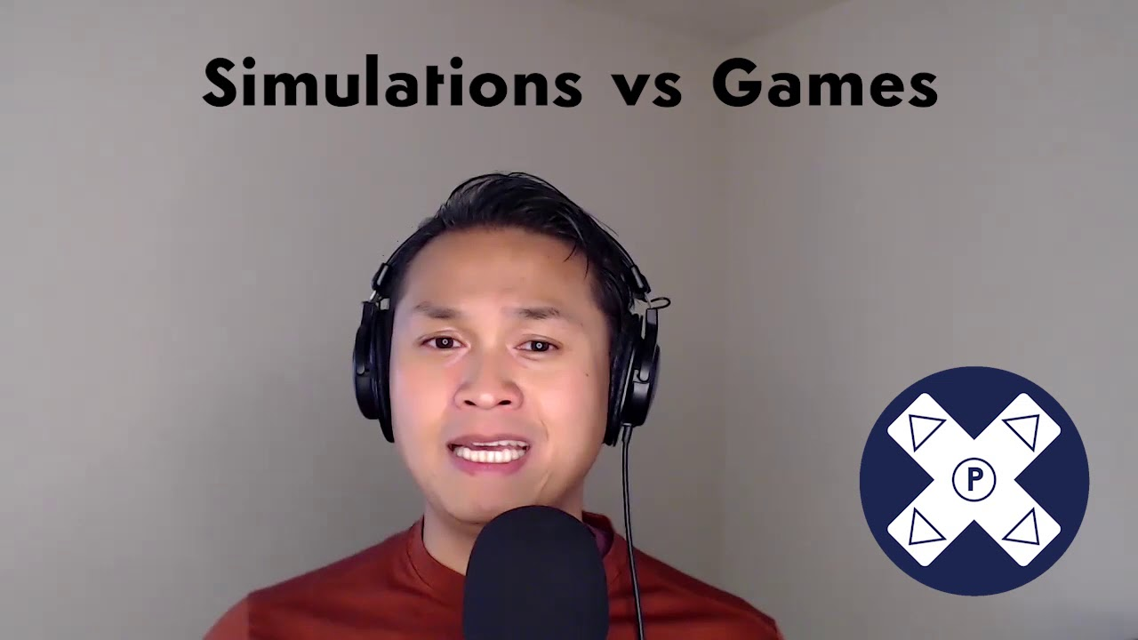 Simulations vs Games