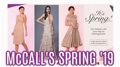 McCall's Spring 2019 Pattern Collection  |   First Impression Review