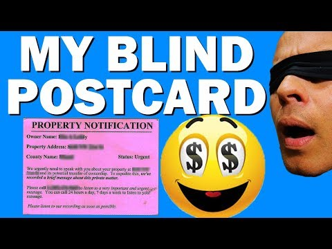 Wholesaling Real Estate | Find Motivated Sellers Using Postcards (Direct Mail)