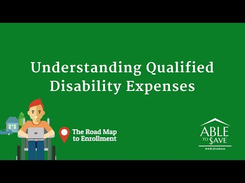 Webinar Abletosave Series Understanding Qualified Disability Expenses