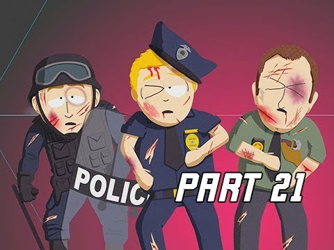 South Park The Fractured But Whole Walkthrough Part 21 - Police Brutality (Let