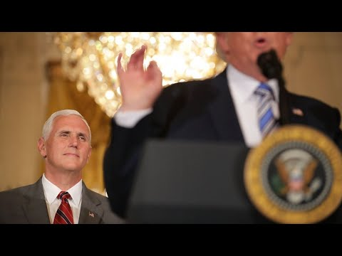 Pence backs Trump as other Republicans criticize