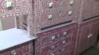 Indian Bone Inlay Furniture,furniture ,indian Furniture,interior Group Of Inlay Furniture Design