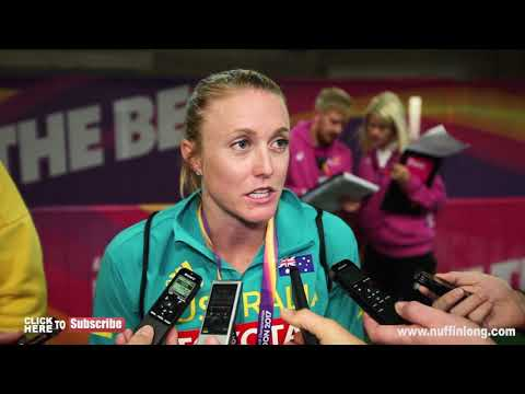 SALLY PEARSON HAPPY WITH GOLD AND READY FOR COMMONWEALTH GAMES