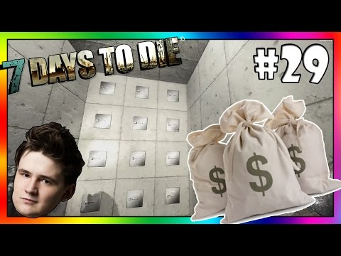 VYLOUPILI JSME BANKU! - 7 Days to Die /w Baxtrix #29