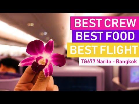 My Best Flight Of 2018 with Thai Airways | Airbus A380 | Tokyo - Bangkok