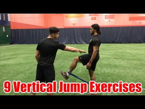 9 Exercises to INCREASE YOUR VERTICAL! (Jump Higher)
