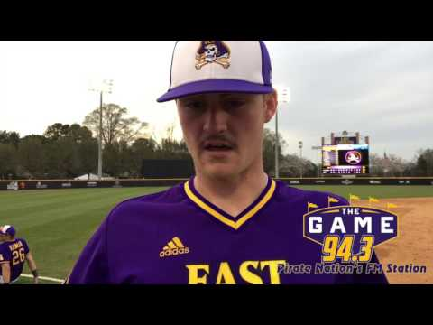 ECU Baseball - Post Game Comments vs Towson (3/25/17)