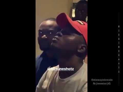 WATCH: Davido mobbed in Liberia