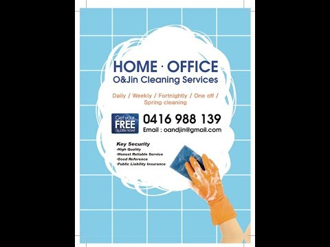 [OandJin] Sydney home cleaning : 1bed Unit Moving out Cleaning