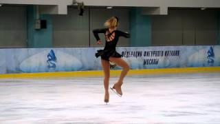 """Выступление Полины Фроловой, категория """"Молодёж"""", 1 место."""