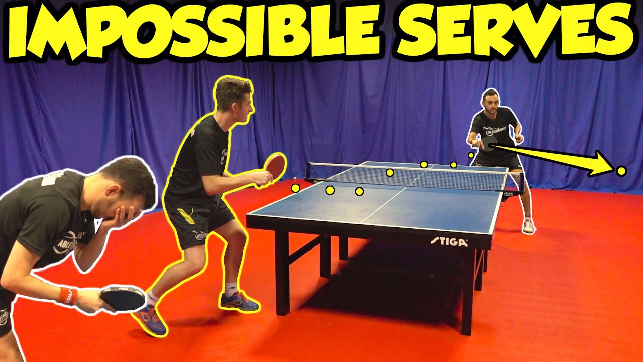 Top 5 Tips To Return Impossible Table Tennis Serves Youtube