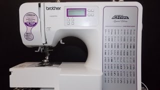 How To Thread Your Brother CE8080PRW Computerized Sewing Machine