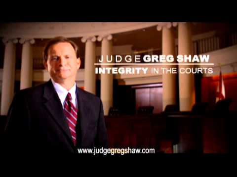"""Greg Shaw for Alabama Supreme Court """"Most Qualified"""""""