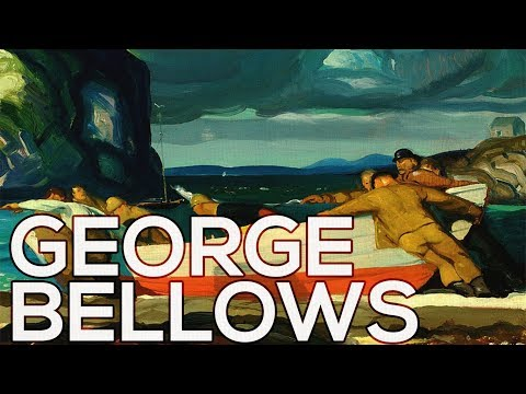 George Bellows: A collection of 266 works (HD)