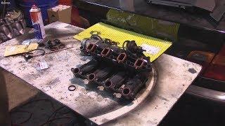 Ремонт автомобиля BMW 320D 20 4D4, когда отрываются заслонки Часть вторая