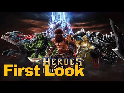 Heroes Of Order & Chaos Gameplay First Look - MMOs.com