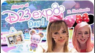 ♡ DISNEY COSPLAY,  EXCLUSIVE CUTE MERCH, & MORE!!♪ ♡ | D23 Expo 2017 - Day 1 ºoº | Abipop