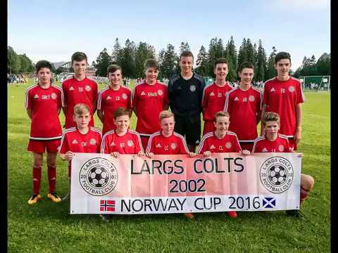 Largs Colts @ the Norway Cup 2016