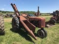 Farmall C Tractor with IHC 14M 1-Row Corn Picker on Missouri Auction Wednesday