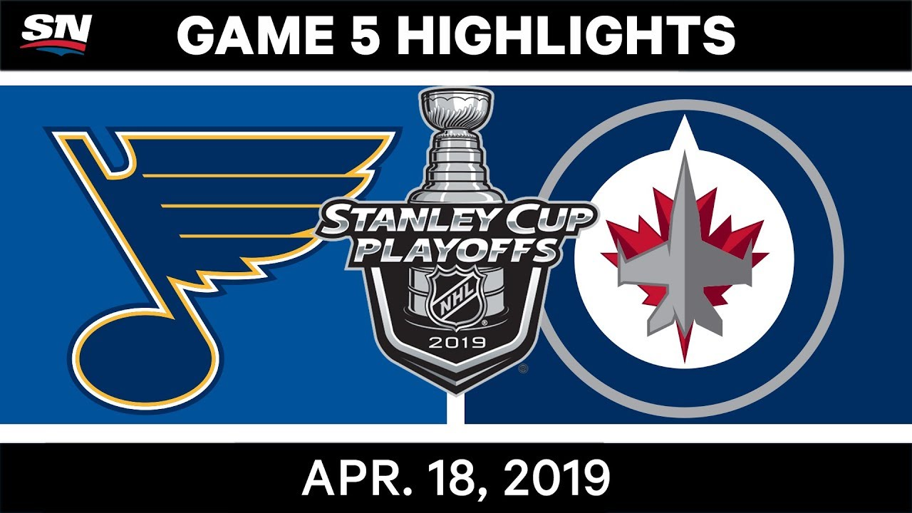 NHL Highlights | Blues vs Jets, Game 5 – April 18, 2019