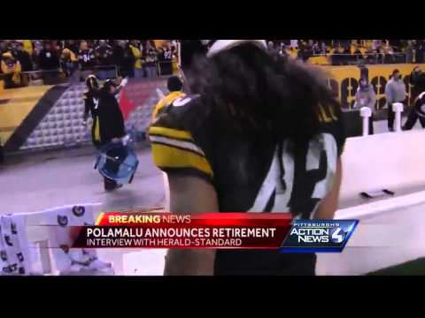 Published report: Troy Polamalu announces retirement
