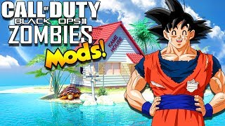 ZOMBIES AT KAMES HOUSE?! Defending Goku's Spirit Bomb | Call Of Duty Black Ops 3 Zombie Mods