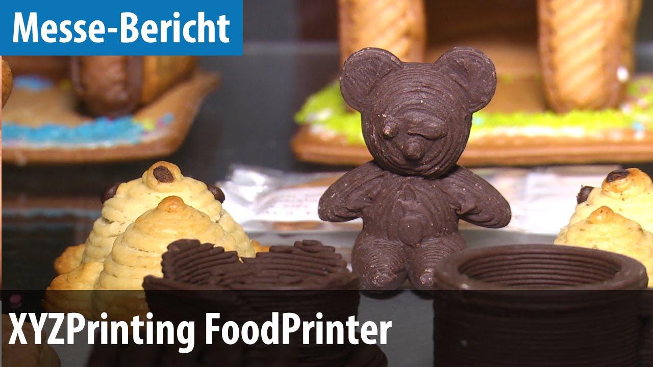 kekse aus dem 3d drucker xyzprinting food printer ausprobiert deutsch german youtube. Black Bedroom Furniture Sets. Home Design Ideas