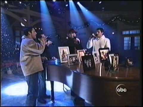 98 Degrees on the Nick & Jessica Christmas Special
