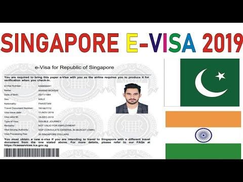Singapore Evisa Print Out || Singapore Evisa 2019