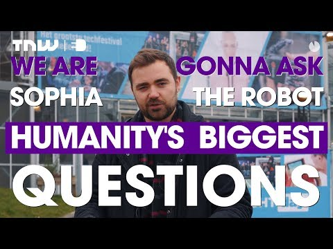 We asked Sophia the robot humanity's biggest questions