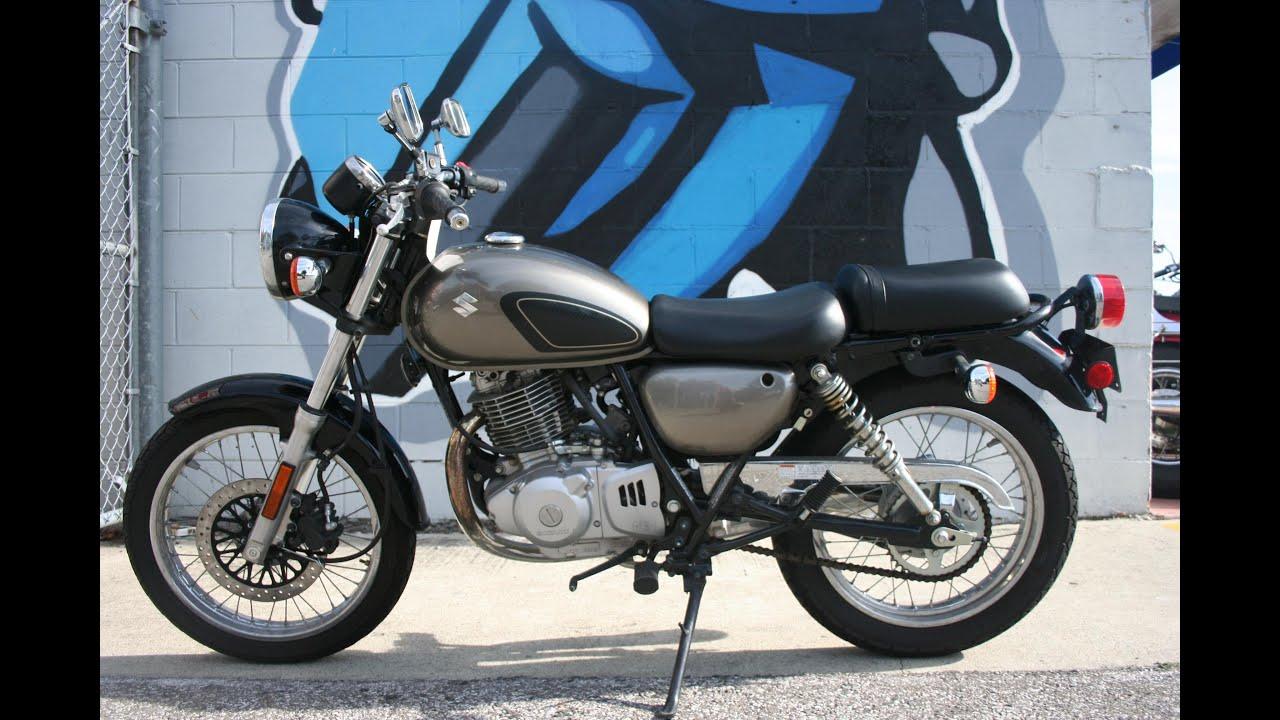 2011 Suzuki TU250x Motorcycle For Sale