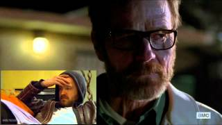 Breaking Bad: Bryan Cranston and Aaron Paul reading