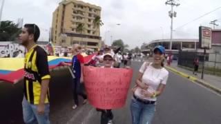 Gran Marcha de las ollas vacías en Acarigua, Portuguesa. Nu