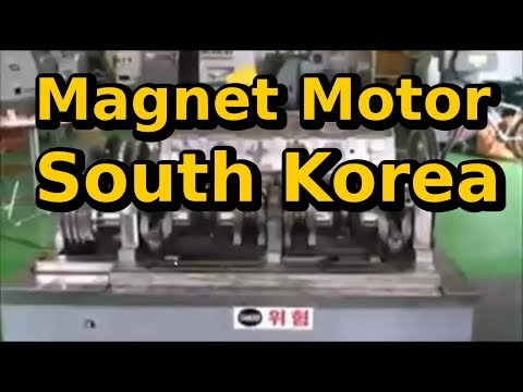 Magnet Motor South Korea