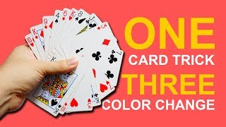 Simple Magic: ONE card trick and THREE color change