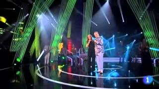 Malú, Tiziano y Miguel Bosé.- El amor es una cosa simple y Linda- TVE 24/12/12.