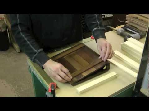 How To Make A Rustic Wooden Scrapbook / Binder