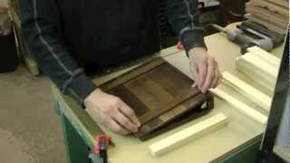How To Make A Rustic Wooden Scrapbook / Binder