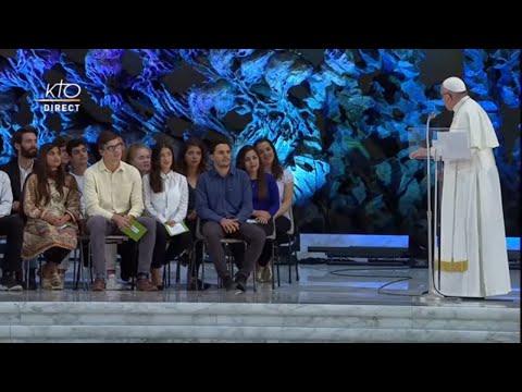 Rencontre du Pape François avec les jeunes - Synode 2018